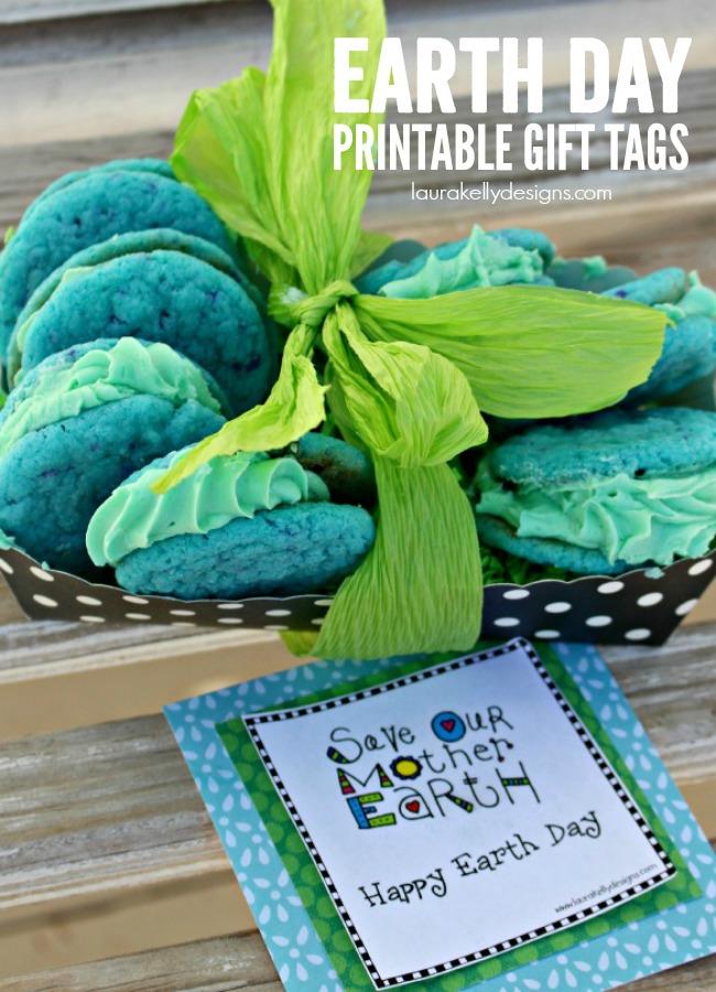Earth Day Printable Gift Tags | anightowlblog.com