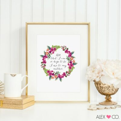 Free Mother's Day Printable | anightowlblog.com