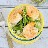 Lemon Shrimp Stir Fry