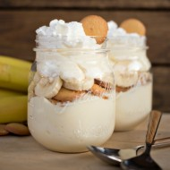 No Bake Banana Cream Cheesecake