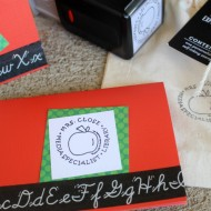 Stamp Out Some Teacher Appreciation Gifts