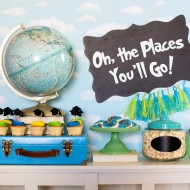 Oh The Places You'll Go Graduation Party