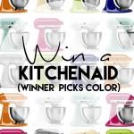 Spring Kitchenaid Mixer Giveaway