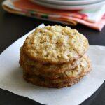 Carrot Cake Oatmel Lace Cookies | anightowlblog.com