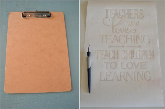painted teachers clipboard1