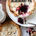 Blue Ribbon Blueberry Pie | anightowlblog.com