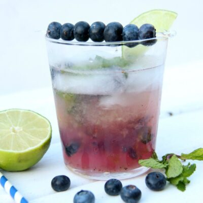 Blueberry Mojito | anightowlblog.com