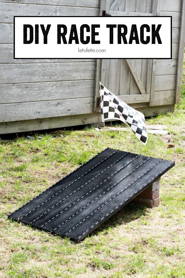 DIY Race Track | anightowlblog.com