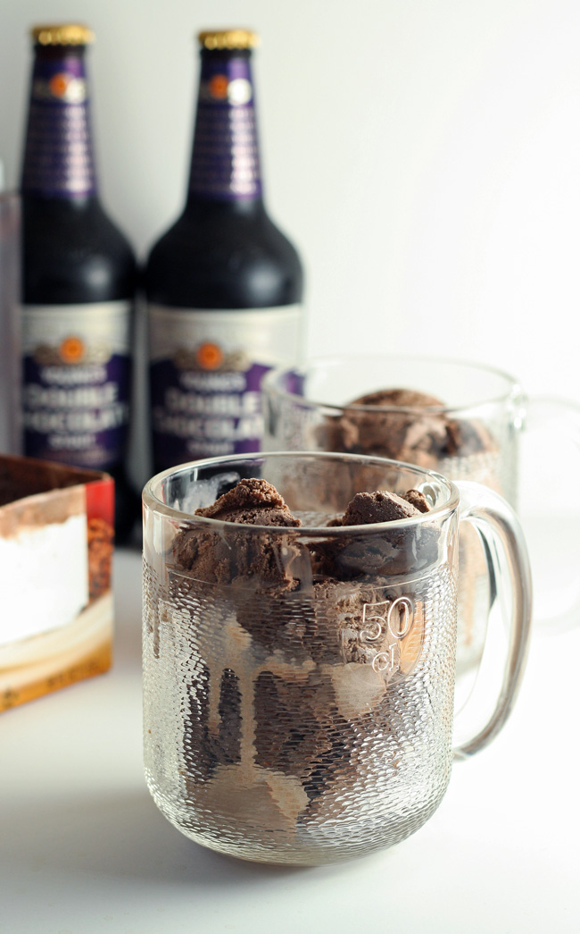 Stout Floats With Cocoa Syrup Recipes — Dishmaps