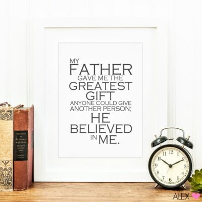 Free Father's Day Printable by Alex & Co | anightowlblog.com