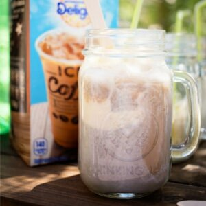 For a fun summer treat, put together this easy Ice Cream Float Bar!