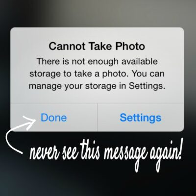 Never run out of iPhone photo space again with SanDisk iXpand!