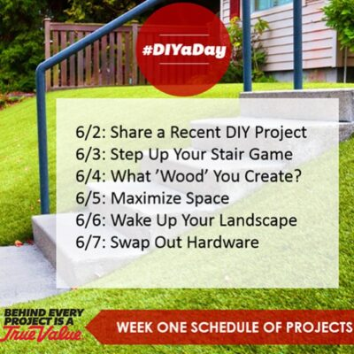 True Value DIY Challenge Week 1
