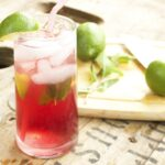 Wildberry Mojito Cocktail