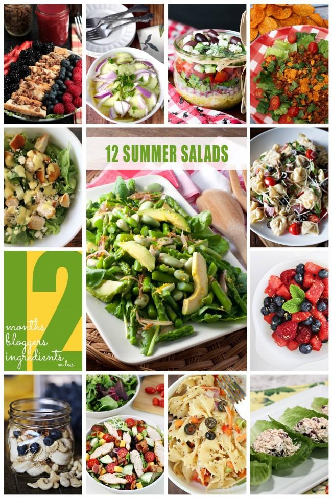 12 Summer Salads | anightowlblog.com