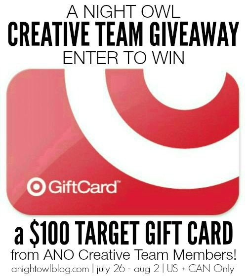 Win $100 to Target!