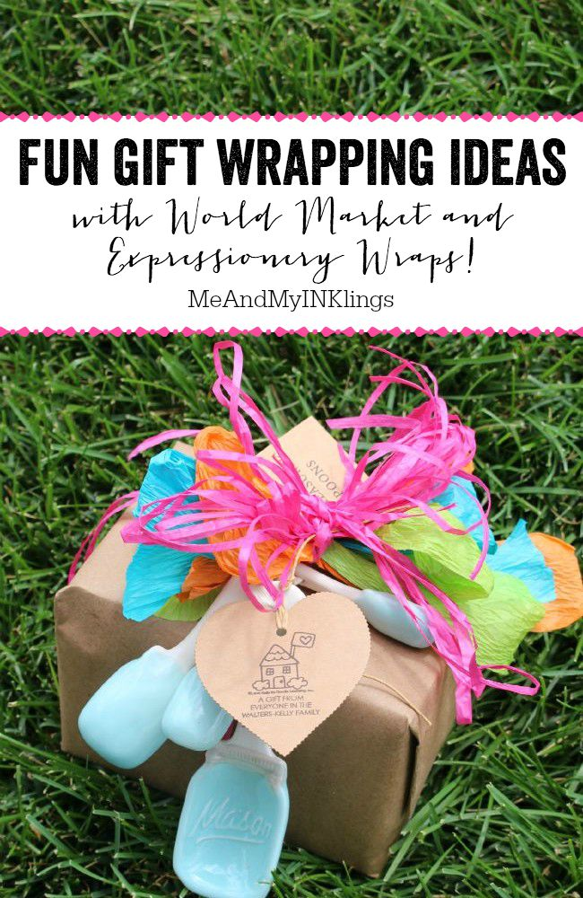 Fun Gift Wrapping Ideas - take your gifts to the next level!
