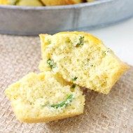 Jalapeño Cheddar Corn Muffins