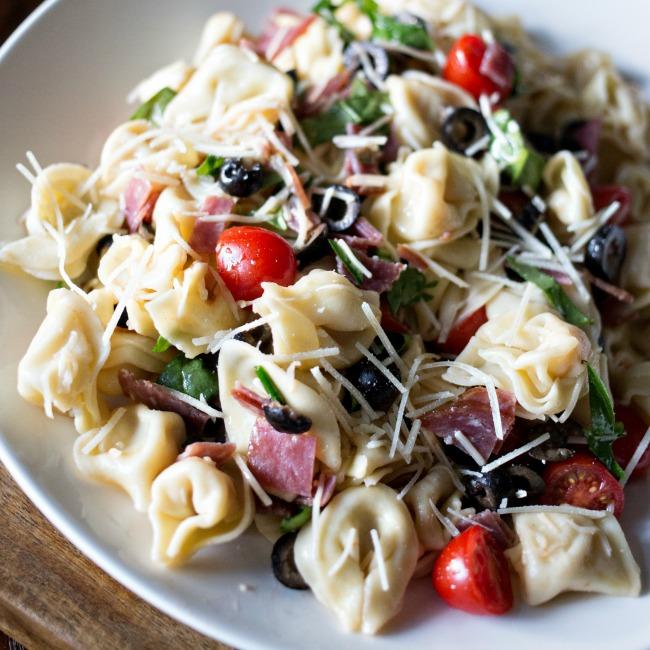 Tortellini Pasta Salad | A Night Owl Blog