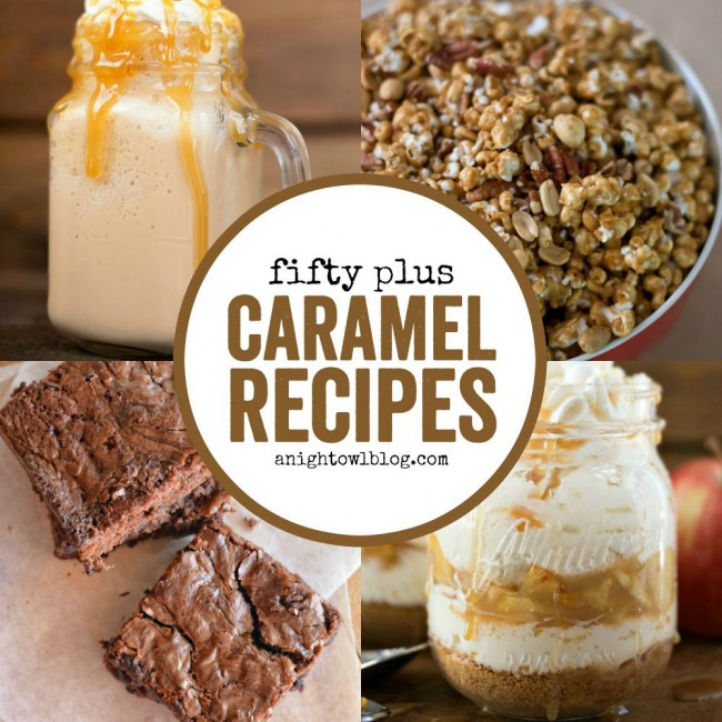 From Caramel Apples to Caramel Macchiatos, discover over 50+ Caramel Recipes you must try! #CaramelRecipes #CaramelApple #CaramelMacchiato