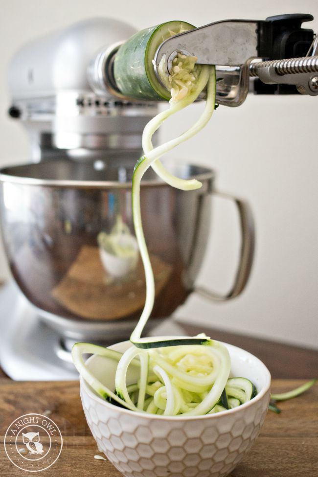 The KitchenAid Spiralizer is a MUST-HAVE kitchen tool! Spiralize, core and peel your way to easier cooking and baking!