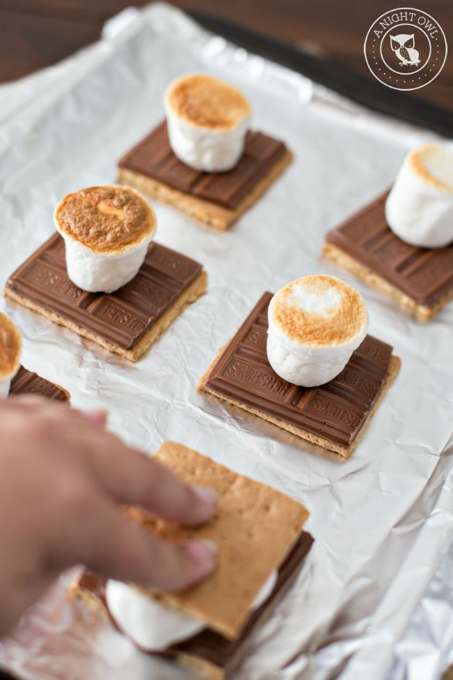 How to Make Indoor S'mores 3