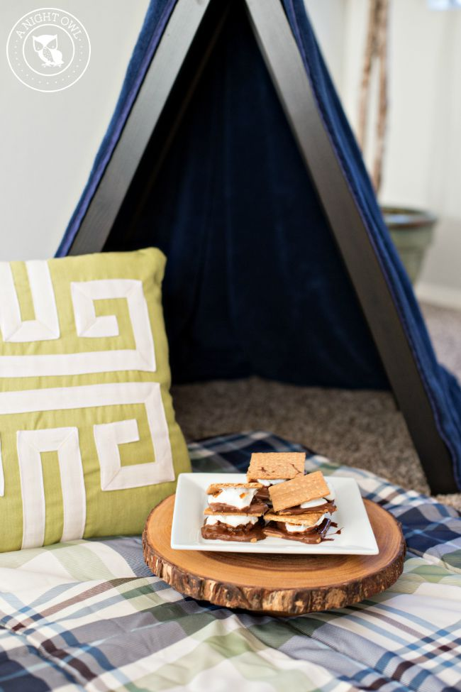 How to Make Indoor S'mores 5