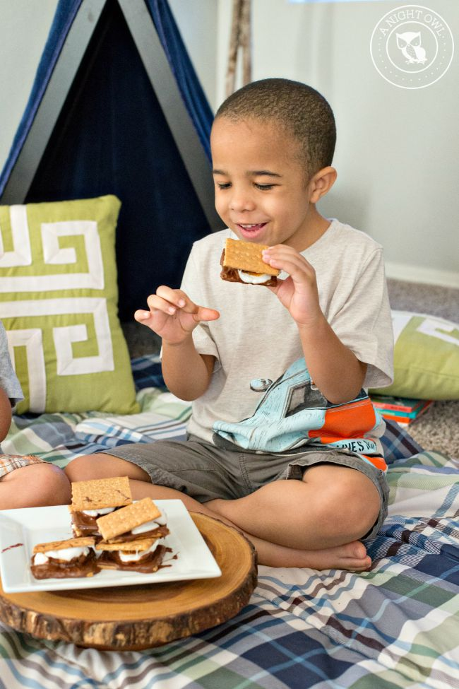 How to Make Indoor S'mores 8