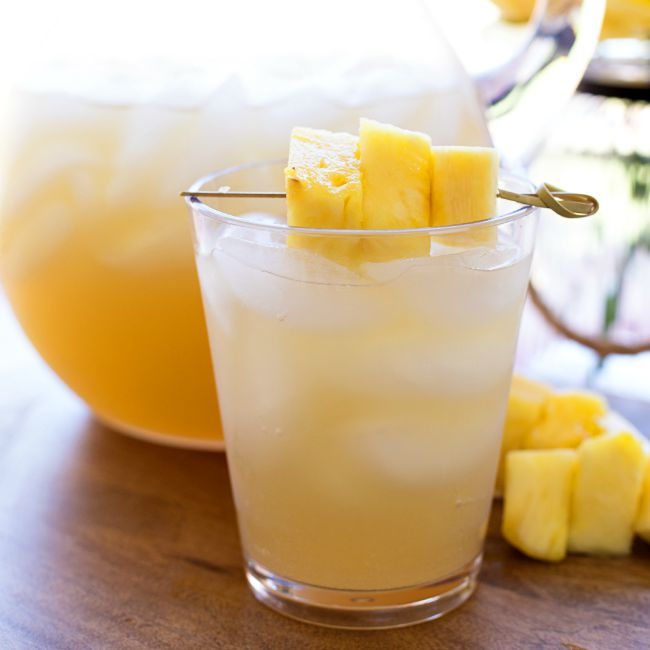 Pineapple Rum Punch | A Night Owl Blog