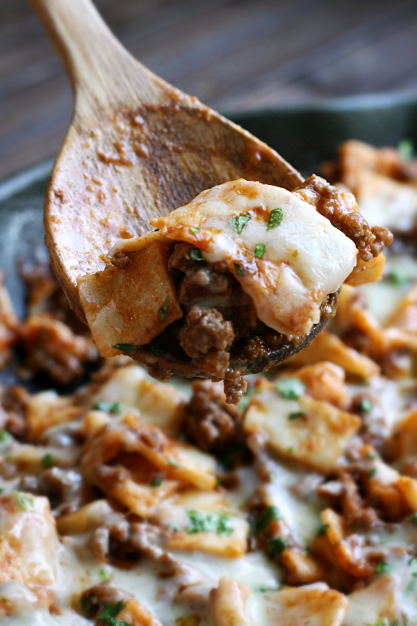 mexican taco skillet
