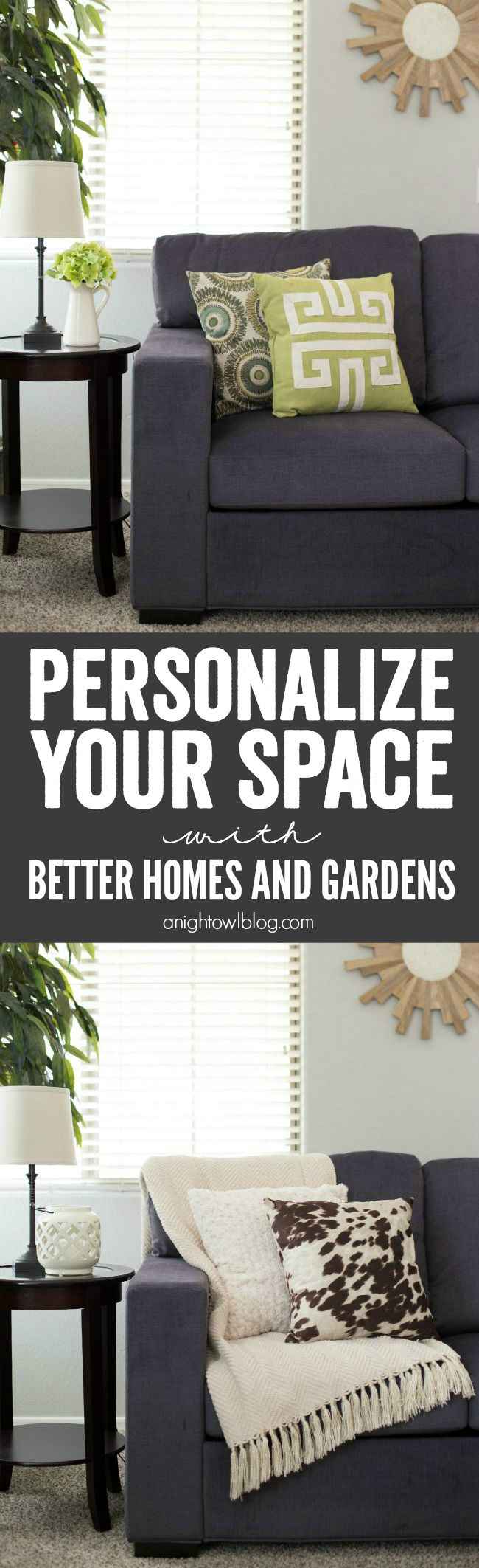 Personalize Your Space with BHG A Night Owl Blog