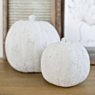 DIY Easy Concrete Pumpkins