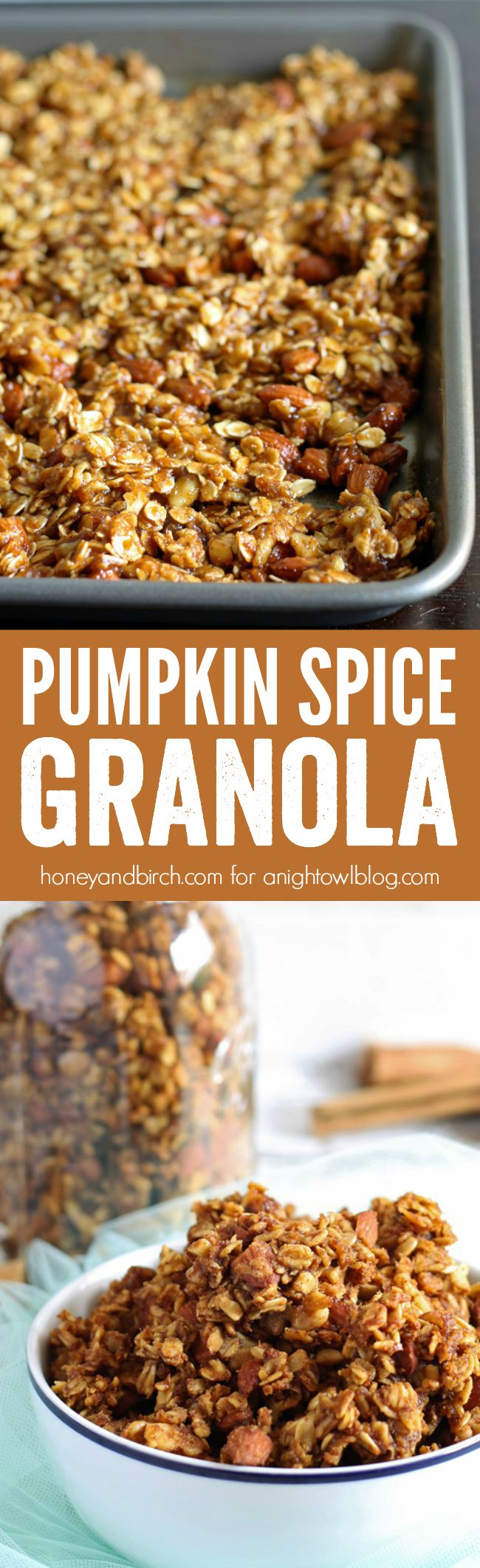 Pumpkin Spice Granola - a sweet combination of your favorite fall ...