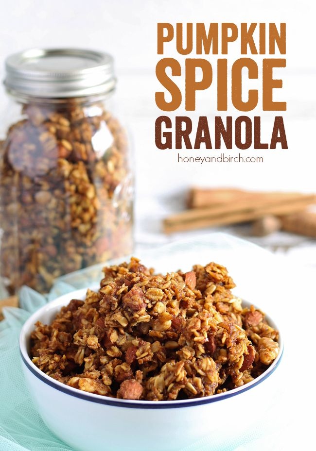 Pumpkin Spice Granola – a sweet combination of your favorite fall ...