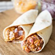 Easy MANWICH Burritos