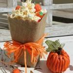 Pumpkins and a Popcorn Box Party