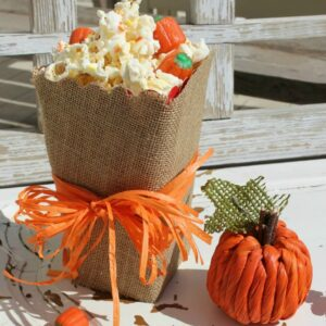 Pumpkins and a Popcorn Box Party - what a fun and festive Halloween idea!