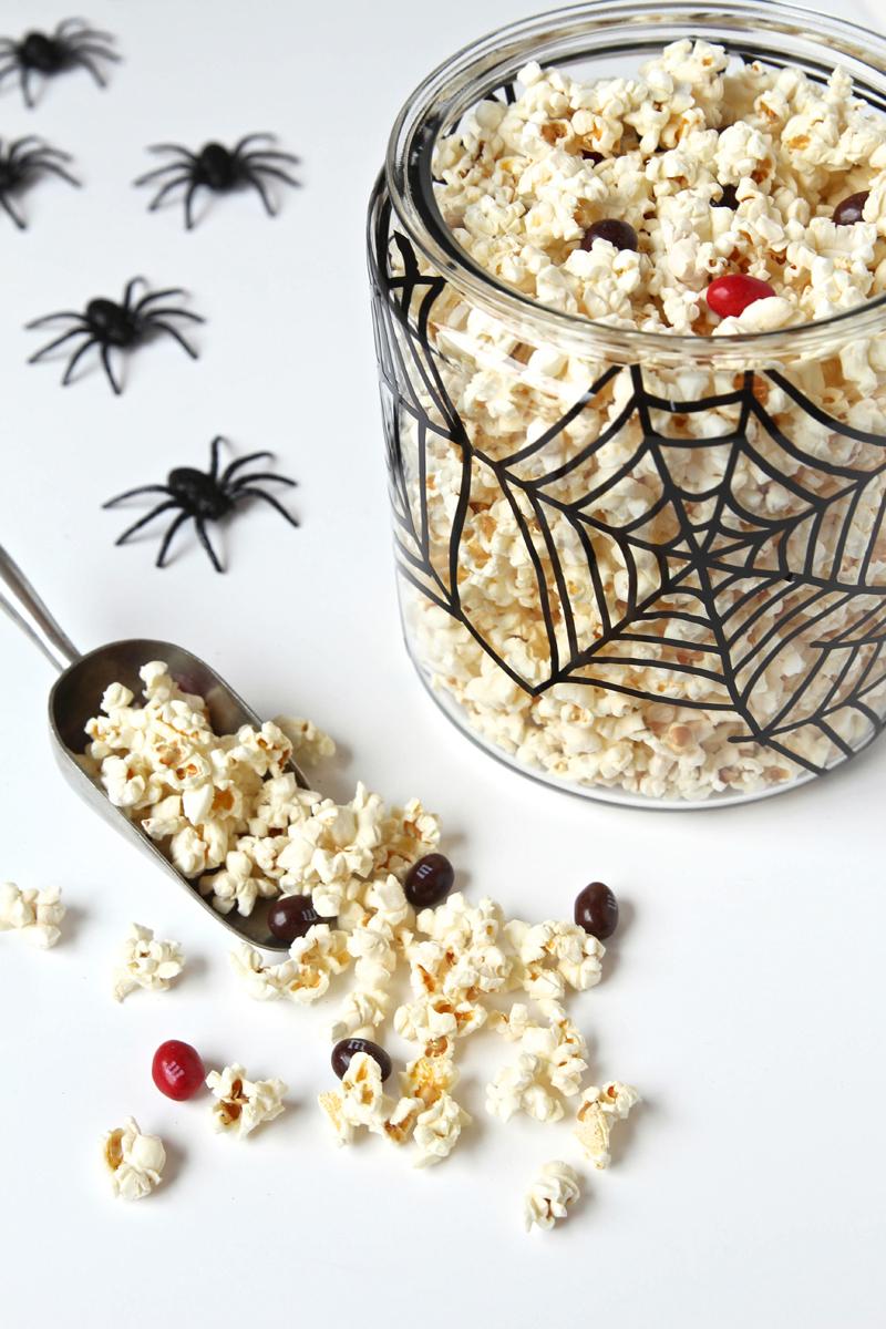Spider Web Jar by Paging Supermom