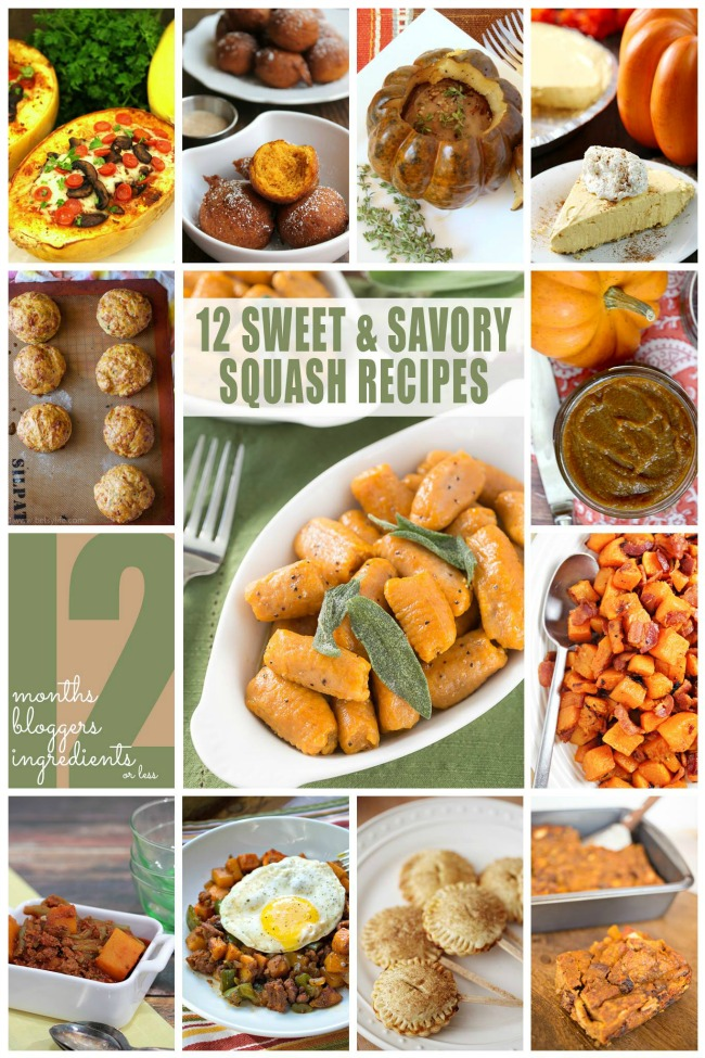 Sweet and Savory Squash Recipes