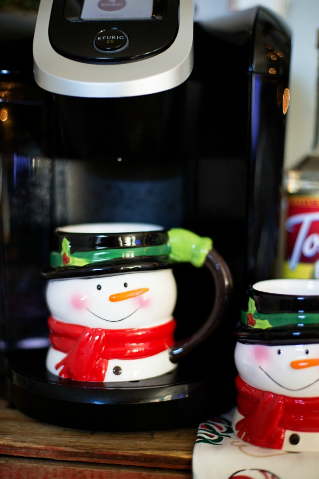 Also key to your hot cocoa bar are an ample supply of mugs; we loved ...