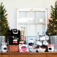 Easy Hot Cocoa Bar