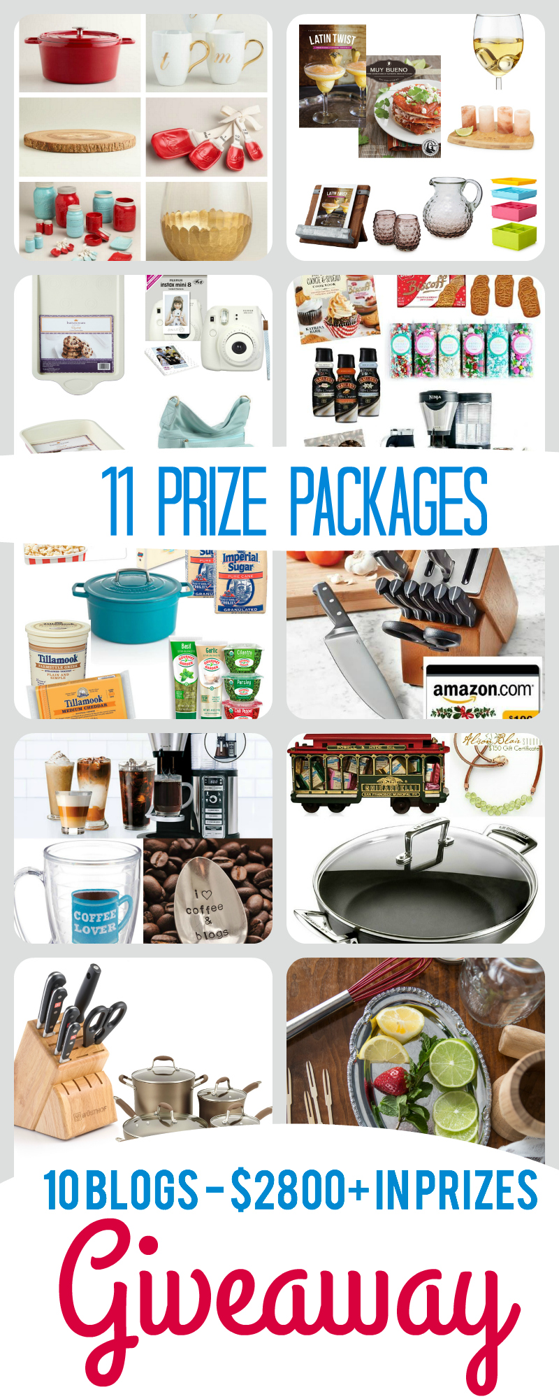 Enter to WIN over $3,000 in prizes!