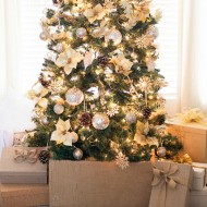 Gorgeous Gold Christmas Tree