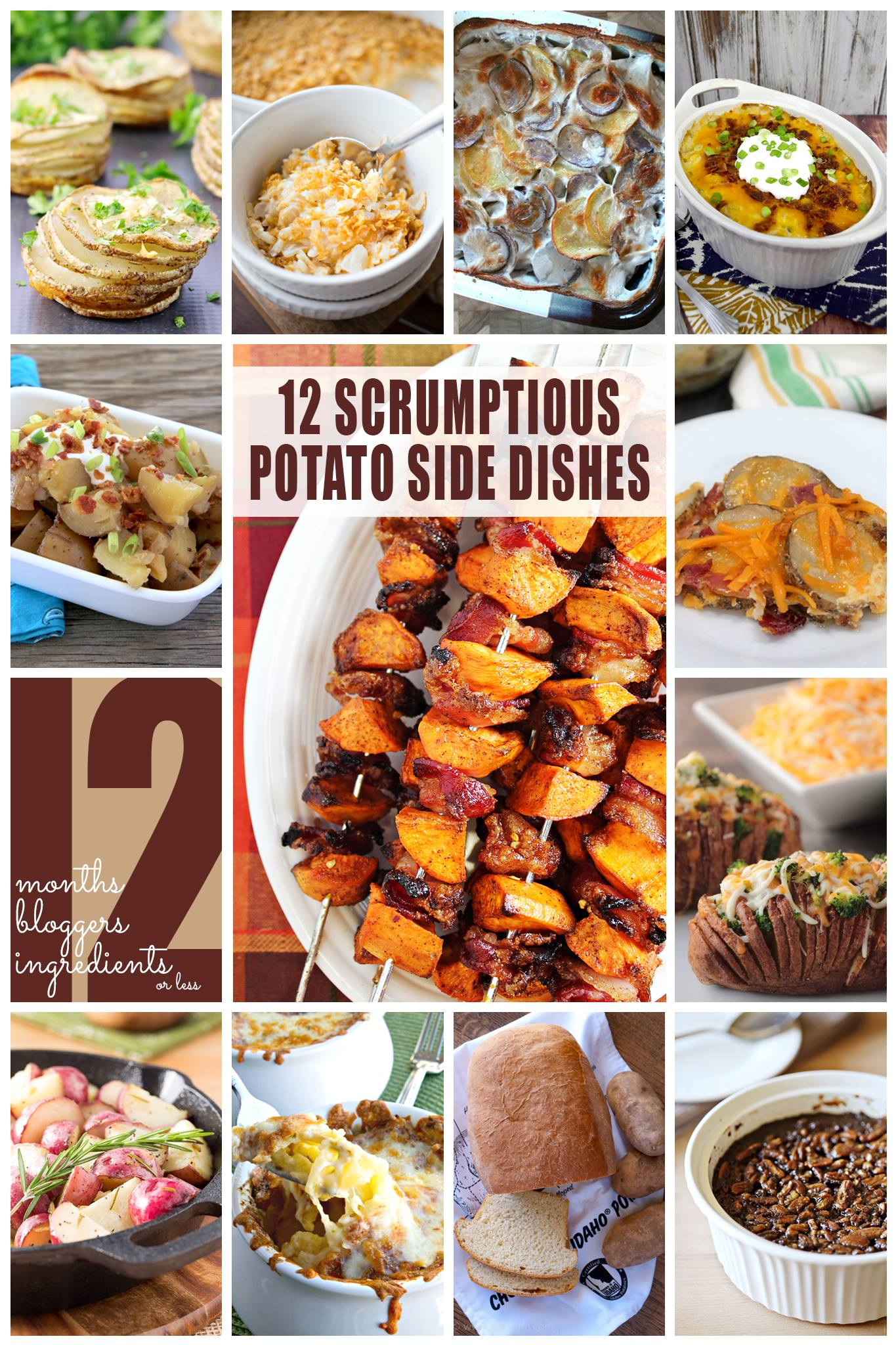 12 Scrumptious Potato Side Dishes | anightowlblog.com