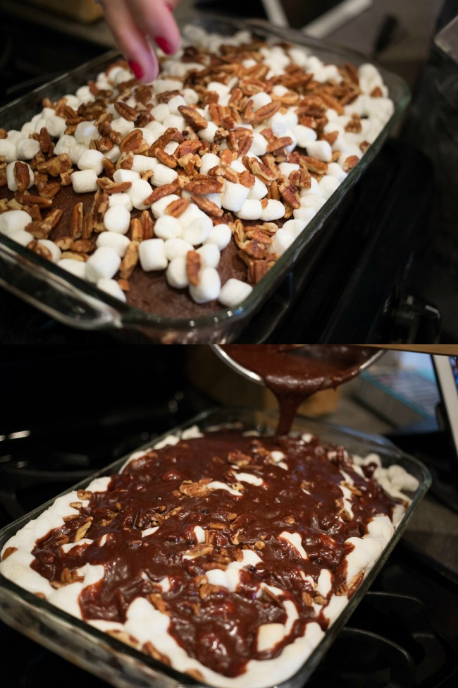 Rocky Road Cake A Night Owl Blog