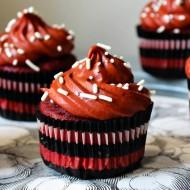 Red Wine Red Velvet Cupcakes