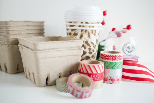 These Easy Berry Basket Gift Ideas are so fun and a breeze to put together! Perfect for teacher or neighbor gifts!