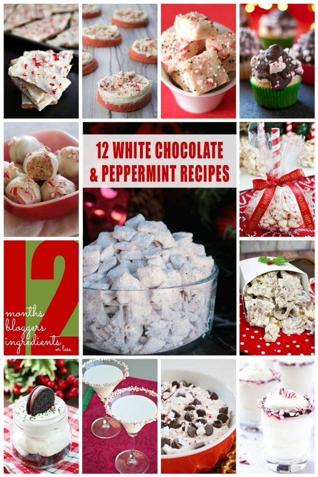 White Chocolate Peppermint Recipes   anightowlblog.com