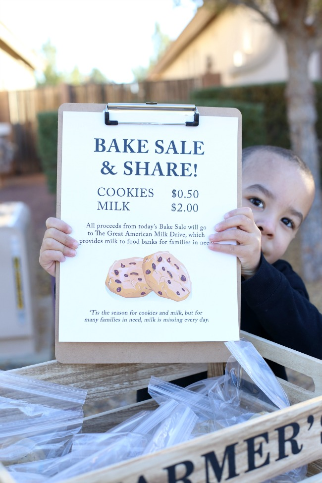 Great tips on how to host a Bake Sale & Share!