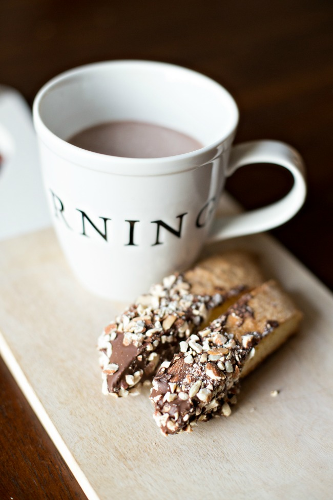 Perfect with your morning coffee, this Homemade Biscotti is easy and delicious!